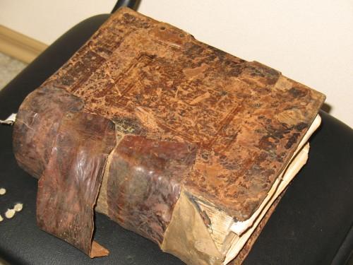 `Неизвестно` . 2-книги1657г., и1794г.-1 книга