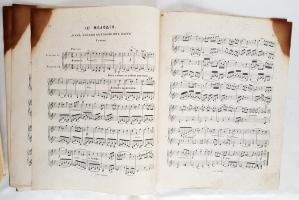 `Коллекция нотных изданий (романсы, оперетты, сочинения для скрипки и фортепиано)` . Москва, начало XX века