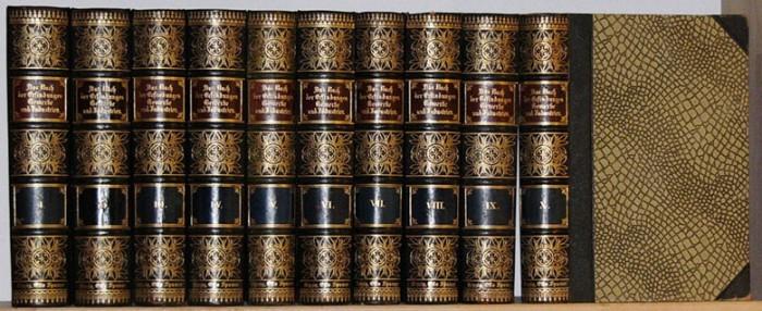 `Das Buch der Erfindungen` Otto Spamer.. 1901 Leipzig