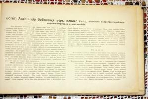 `Новый альбом домашней птицы` . Типография Цветков и Китцель, Ревель, первая половина XX века (19..)