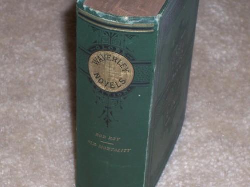 `Rob Roy  Waverly Novels Globe Edition` Sir Walter Scott. 1800