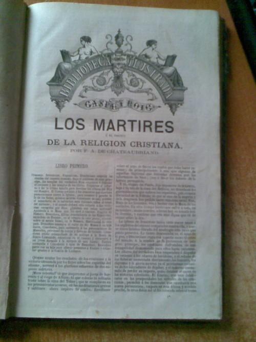 `EL TRIUNFO DE LA RELIGION CRISTIANA` F.A.DE CHATEAUBRIAND. 1871г. MADRID