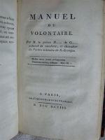 `Примечания о французской армии последних времен с 1792 по 1807` . Санктпетербург, в медицинской типографии, 1808 года