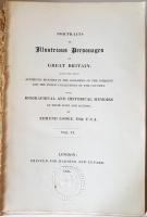 `Портреты известных людей Великобритании. (Portraits of Illustrious Personages of Great Britain)` Edmund Lodge. London, 1835