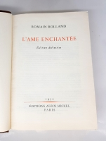 `L'Ame enchantee (Заколдованная душа),  Jean - Christophe (Жан-Кристоф)` Romain Rolland (Ромен Роллан). Editions Albin Michel, Paris, 1948 - 1950