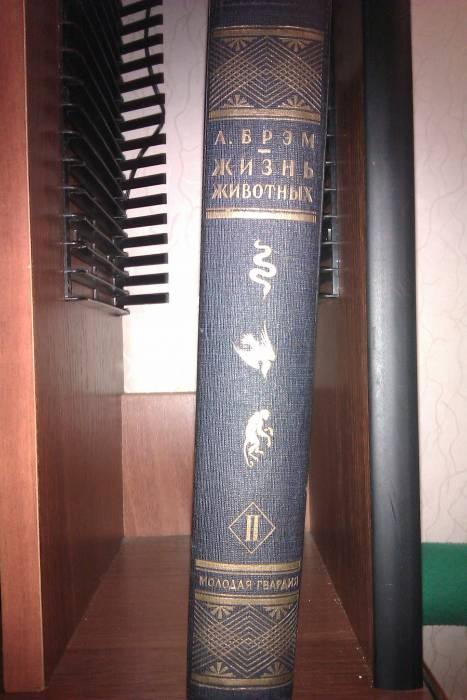 `Жизнь животных  (птицы) по А.Э.Брэму том 2` по А.Э.Брэму. Молодая гвардия 1930 год