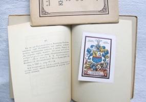 `Книжные знаки А.М. Литвиненко` Э. Голлербах. Ленинград, 1924 год