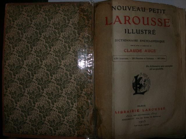 `Nouveru petit larousse illustre` . 1925г. Париж