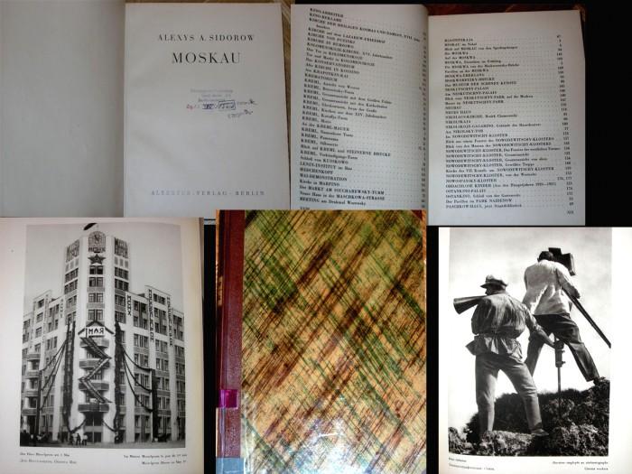 `'Москва'` Алексей Сидоров (Alexys A. Sidorow). Берлин, изд-во ALBERTUS-VERLAG, 1928 г. 1 издание