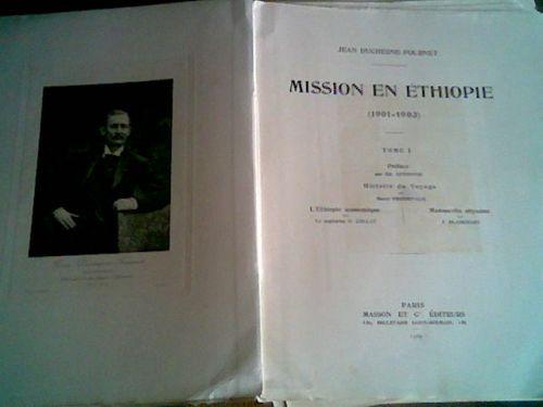 `Миссия в Эфиопию (Mission en Ethiopie 1901-1903)` Duchesne-Fournet Jean. 1903