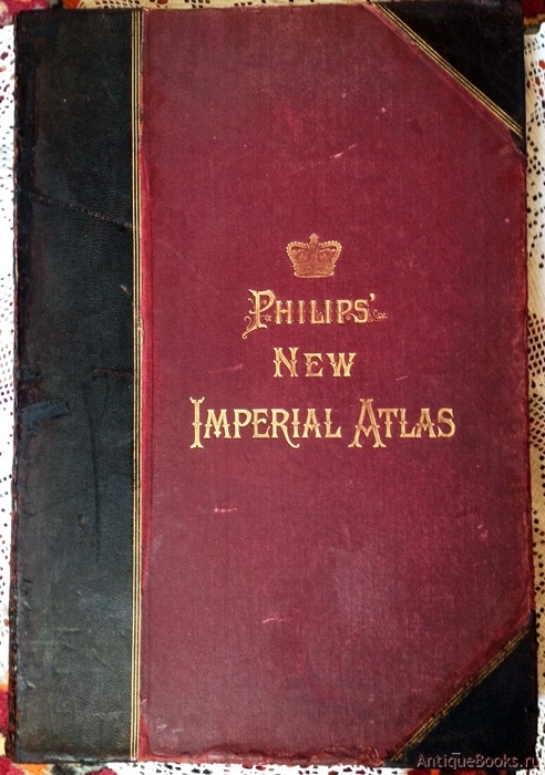Антикварныекниги.рф: Philips new Imperial Atlas. .