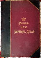 `Philips new Imperial Atlas` . London, Liverpool, 1934 г.