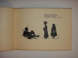 `Сказка о попе и работнике его Балде` А.С.Пушкин. Париж, Societe Anonyme Imprimerie de Navarre, Б|г. ( приблизительно 1920-1925гг. ).