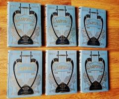 `Библиотека великих писателей` Байрон в шести томах. С.-Петербург, Издание Брокгауз и Ефрон, 1904 г.
