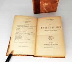 `Rouge et le noir (Красное и черное)` Stendal (Стендаль). Paris, Calmann-Levy, Editeurs