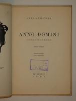 `Anno Domini. Стихотворения` Анна Ахматова. Петербург, Издательства  Петрополис  и  Алконост , 1923г.