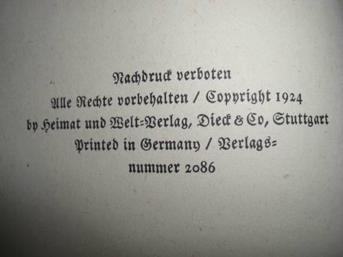 `Королева Марго` А. Дюма. 1924, Heimat und Welt Verlag Dieck und Co, Stuttga
