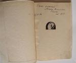 `Чётки. Стихотворения. Книга первая.` Анна Ахматова. Берлин: Петрополис, Алконост, 1923 г.