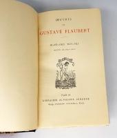 `Le capitaine Fracasse( Капитан Фракасс). Madame Bovary (Мадам Бовари)` Qevres de Theophile Gautier. Gustave Flaubert (Теофила Готье. Гюстав Флобер). Paris, Libraire Alphonse Lemerre, 1937