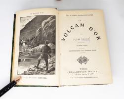 `Le Volcan D'Or (Золотой Вулкан)` Jules Verne (Жюль Верн). Collection Hetzel, Paris, 1906