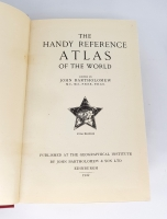 `The handy reference Atlas of the world (Справочный атлас мира)` John Bartholomew (Джон Бартоломью). Geographical Institute by John Bartholomew, Edinburgh, 1949