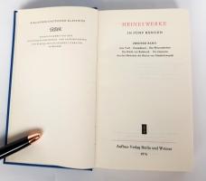 `Heines Werke in funf banden` Heines Werke. Aufbau-Verlag Berlin und Weimar, 1976