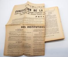 `L'année politique, économique, sociale et diplomatique en France (Политический, экономический, социальный и дипломатический год во Франции)` . Paris, Editions du Grand Siecle, 1947