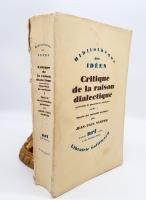 `Critique de la raison dialectique (Критика диалектического разума)` Jean-Paul Sartre (Жан-Поль Сартр). Published by Gallimard, 1960