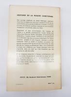 `Histoire de la pensee chretienne (История христианской мысли)` Paul Tillich (Пол Тиллих). Paris, Payot, 1970