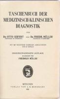 `Taschenbuch der medizinisch-klinischen diagnostik` Seifert und Muller. 1922 Munchen