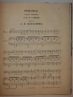 `Подшивка гравированных нот 40-ых - начала 50-ых годов XIX века` .