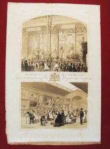 Антикварная книга: Часть промышленного и художественного отделений России на лондонской всемирной выставке 1862 года. Литография В.Тимма. 1862 год