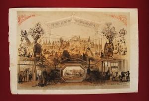 Антикварная книга: Выставка произведений сельского хозяйства и промышленности в Санкт-Петербурге в 1860 году. Рисовали братья И. и А. Шарлемань и В.Тимм. 1860 год