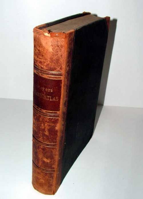 `Атлас` Мейер. 1892 Лейпциг