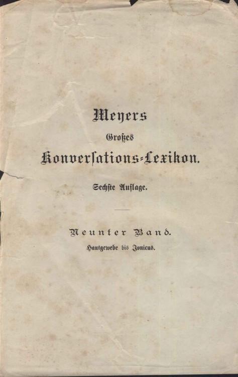 `meyers konderfations lexikon` .