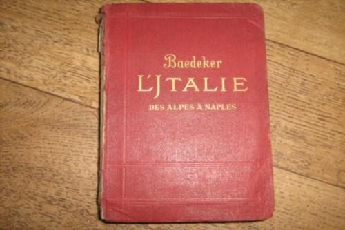 `Италия от Альп до Неаполя` Baedeker. 1905
