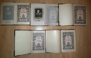 `Библиотека великих писателей в 20-ти томах` А.С.Пушкин, В.Шекспир, Д.Байрон, Ж.Мольер, И.Шиллер. Ф.А.Брокгауз - И.А.Ефрон, 1901-1904 гг.