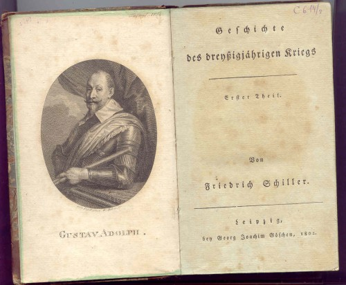 `История Тридцатилетней войны` Фридрих Шиллер. 1802 Лейпциг