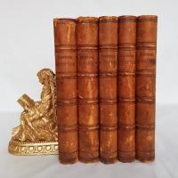 `Сочинения Н. В. Гоголя в пяти томах под редакцией Н.С. Тихонравова` Н.В. Гоголь. Москва, 1889-1890 гг.