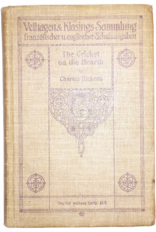 "Антикварныекниги.рф: ""The Cricket on the Heart"". Charles Dickens."