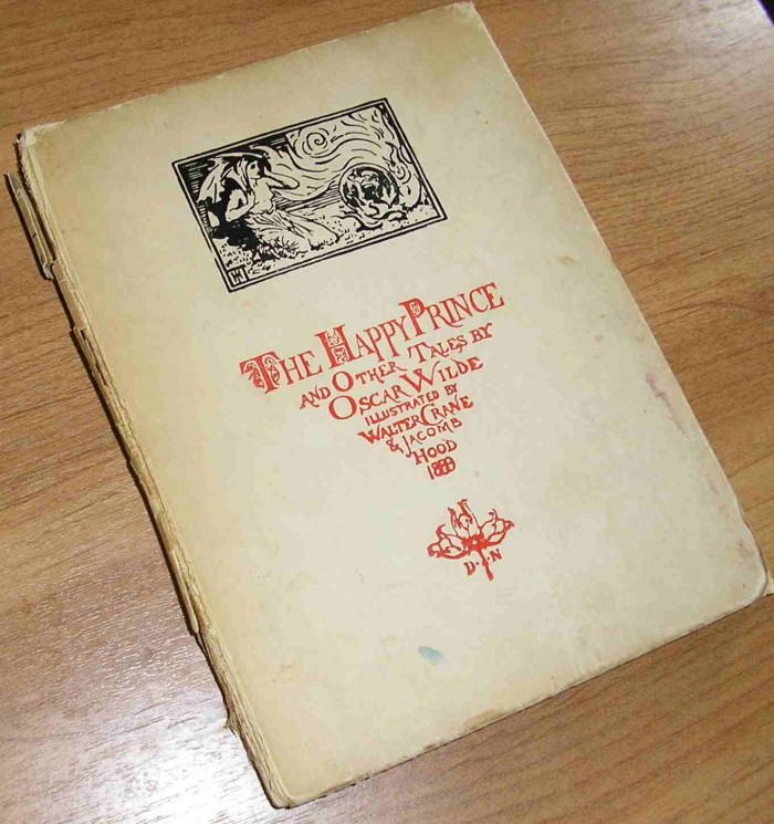 Антикварныекниги.рф: The Happy Prince and Other Tales. О. Уайлд(O.Wilde).
