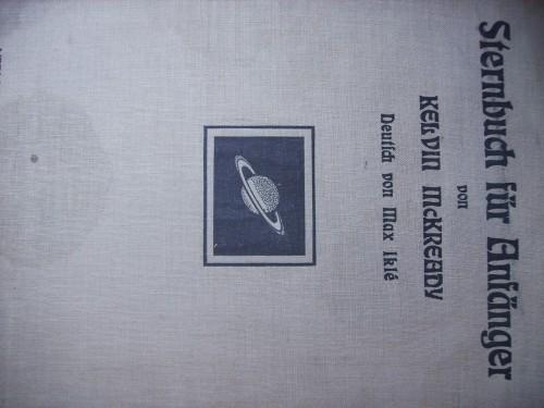 `Sternbuch fur anfanger` verlag von Johann ambrosius barth in leipzig. Leipzig 1913