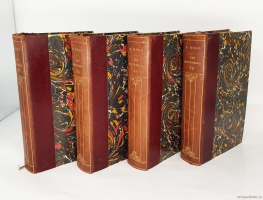 `Les miserables. (Отверженные. Роман в 8 томах)` Victor Hugo. (Виктор Гюго). Collection Hetzel, E. Dentu, libraire-éditeur, 1862(?)