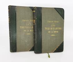 `Les travailleurs de la mer (Труженики моря)` Victor Hugo (Виктор Гюго). J.Hetzel, Paris, 1890(?)