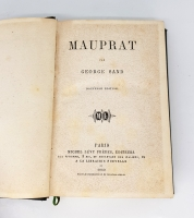 `Mauprat (Мопра)` George Sand (Жорж Санд). Michel Levy Freres, Paris, 1869