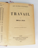 `Travail (Работа)` Emile Zola (Эмиль Золя). Bibliotheque - Charpentier, Paris, 1901