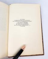 `Histoire du Chevalier des Grieux et de Manon Lescaut (История Шевалье де Грие и Манон Леско)` Abbe Prevost (Аббат Прево). Les Tresore de la Litterature Francaise, 1946
