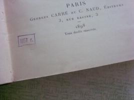 `Les Terres Rares` P. Truchot. 1898, Paris