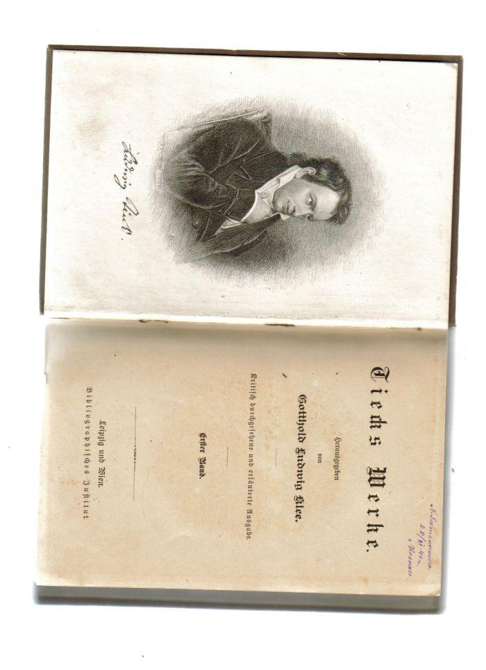 `Собрание сочинений в 3 томах.` Людвиг Тик.. Лейпциг,Бонн. 1892 год