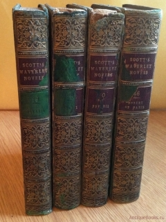 Waverley Novels.  Peveril of the peak (Уэверли Романы Давдейл), Count Robert. 1841 г, Edinburgh - London